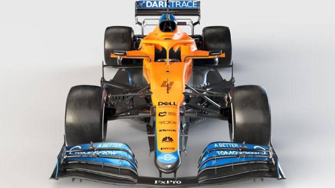 F1, aquí está el nuevo McLaren MCL35M con motor Mercedes