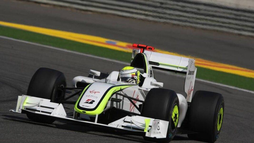 F1, el Brawn GP 2009 de Button: la alegría en una foto en Instagram