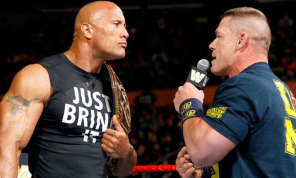 John Cena tuvo problemas trabajando para The Rock en WWE WrestleMania 28