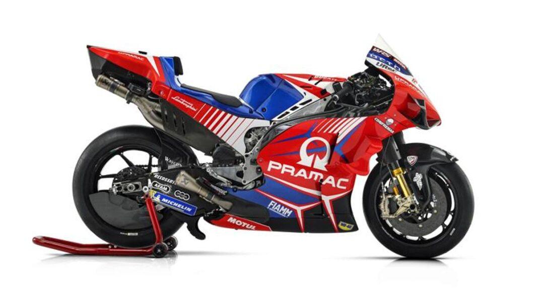 La flamante Ducati Pramac de Martin y Zarco.  Mira las fotos