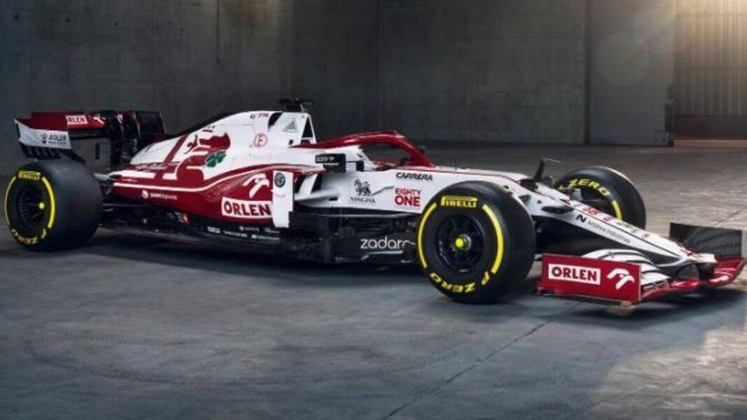 Presentación del Alfa Romeo F1, Giovinazzi y el C41 de Raikkonen