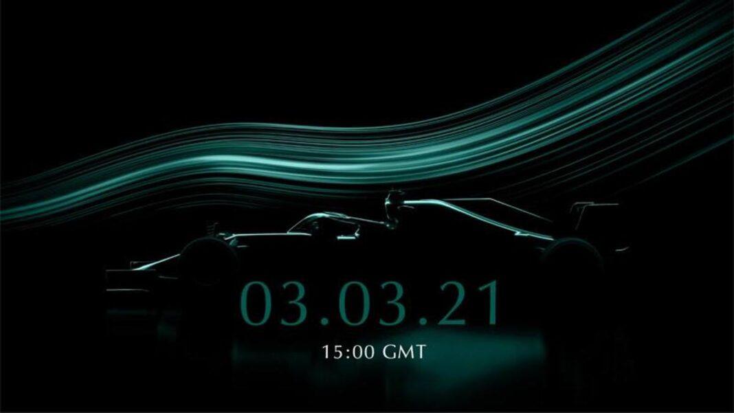 Presentaciones de F1 impartidas, el 2 de marzo es el turno alpino, el 3 de marzo por Aston Martin