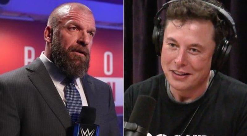 Triple H llamó a Elon Musk