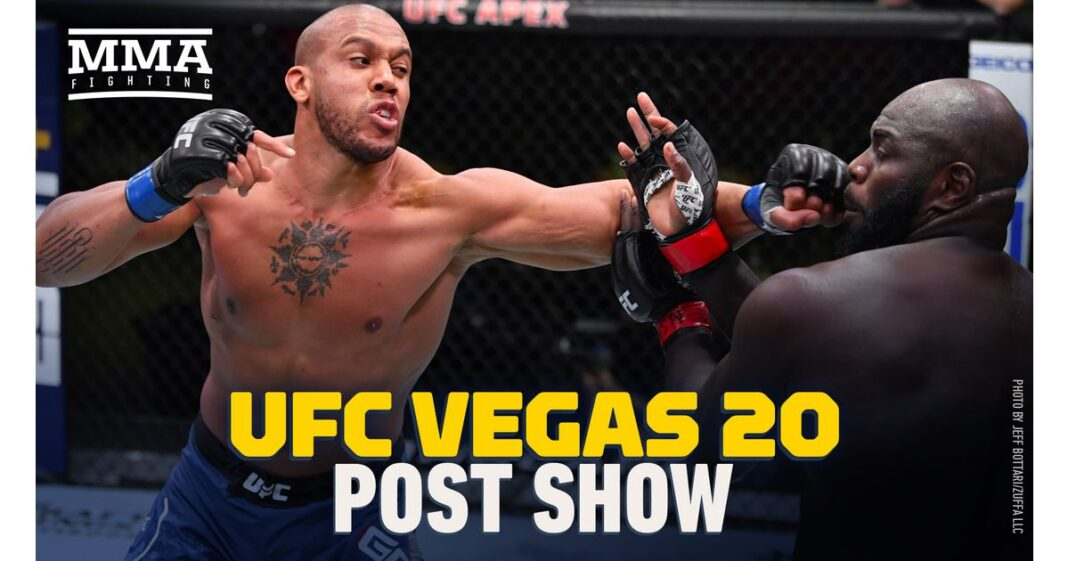 Video: Show de lucha de UFC Vegas 20