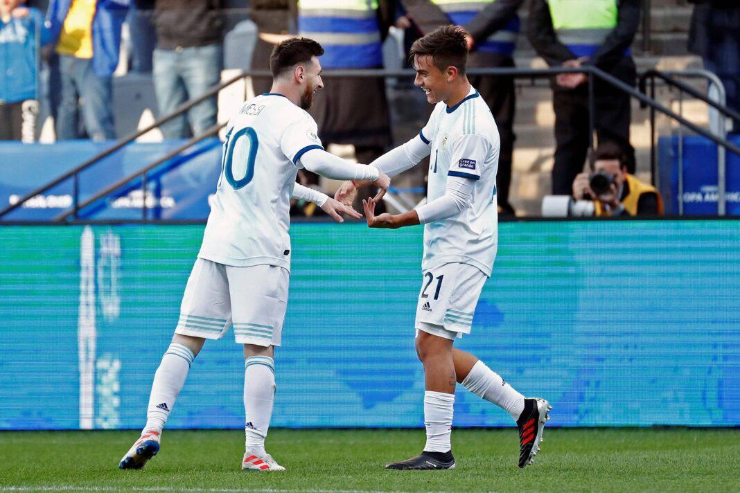 Lionel Messi y Paulo Dybala protagonizan el montaje promocional de Adidas para revelar los nuevos uniformes de Argentina antes de la Copa América