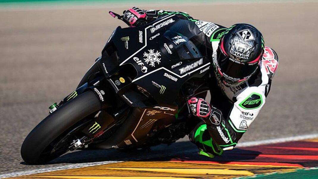 Alex Lowes vuelve a la pista con Kawasaki tras una lesión en el hombro