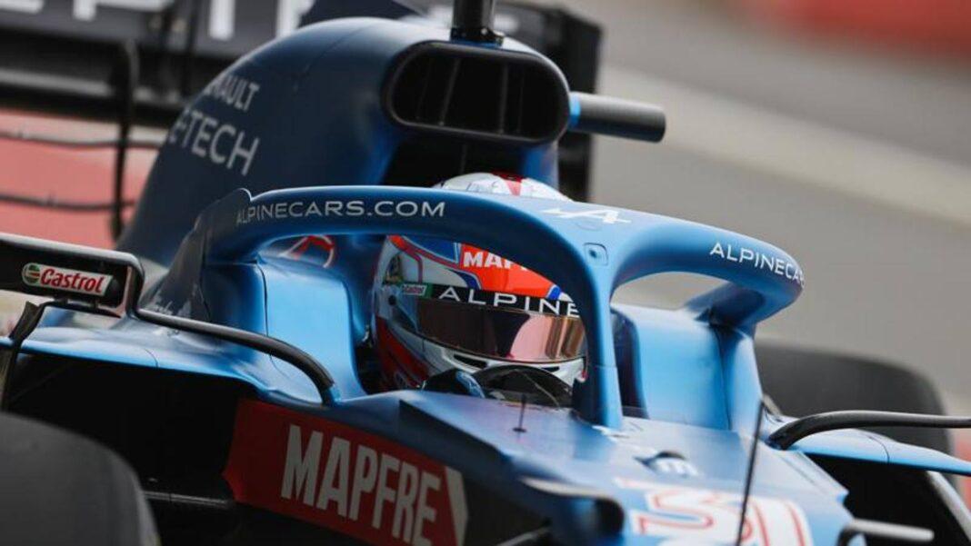 Alpine F1, las primeras vueltas de Ocon en Silverstone: 'Día divertido e interesante'