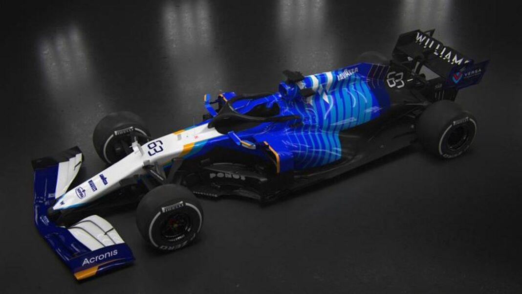 Aquí está el nuevo Williams F1, el FW43B.  Levantarse es la prioridad