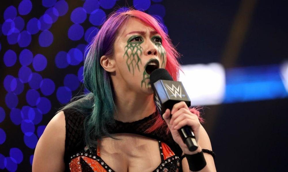 Asuka ha sido limpiada y anunciada para participar en WWE Monday Night Raw