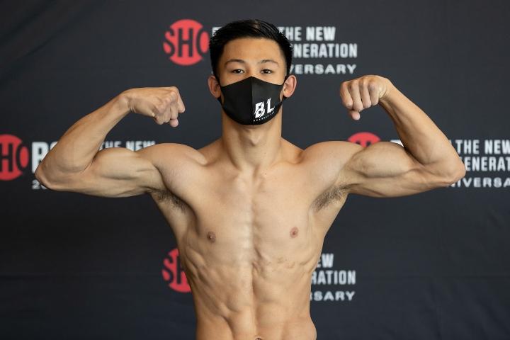 Brandun Lee anota un enfático nocaut en la tercera ronda de Samuel Teah