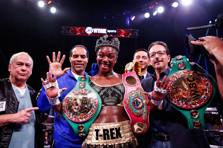 Claressa Shields domina a Marie-Eve Dicaire para unificar títulos