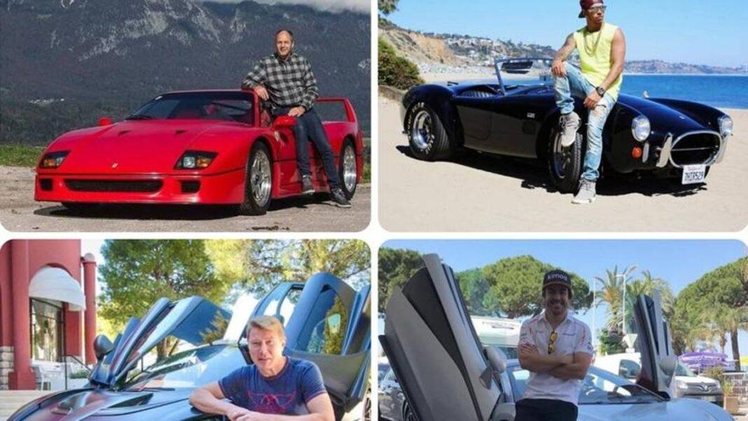 Del Shelby de Hamilton a los Ferraris de Vettel: los coches de los pilotos de F1