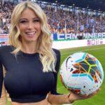 Diletta Leotta, la vida en el fútbol
