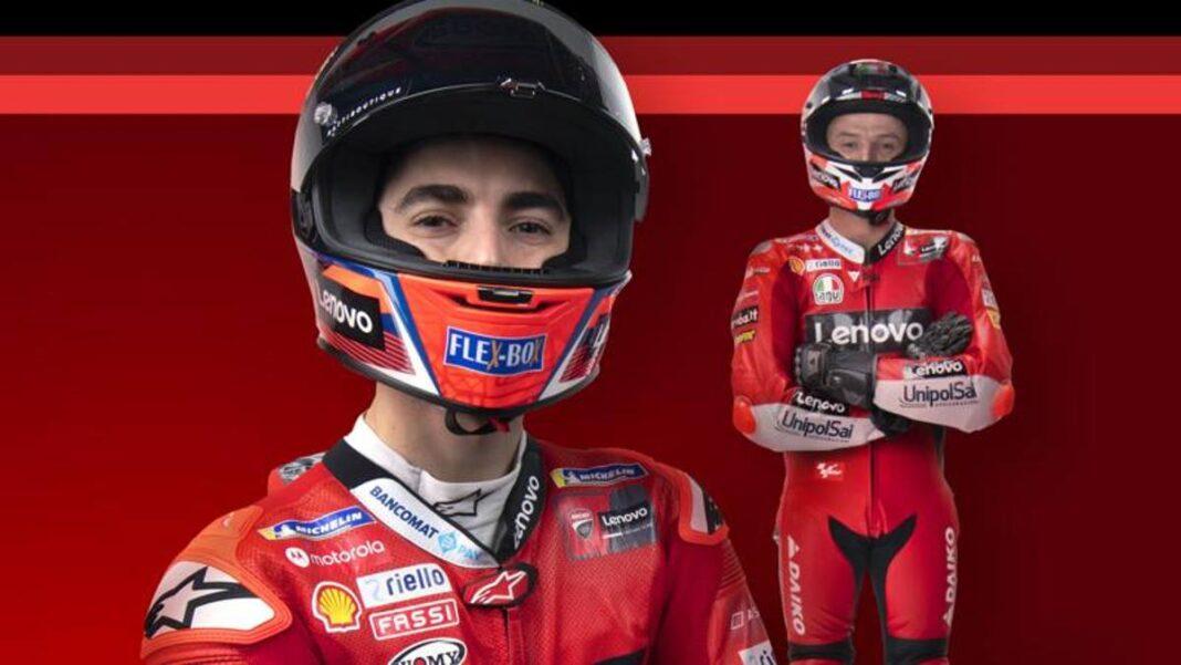 """Ducati, carga Miller: """"Lucha por el podio de inmediato"""".  Bagnaia: """"Ya puedo dar mi opinión"""""""