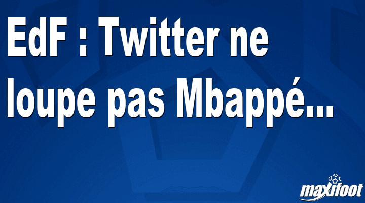 EdF: Twitter no extraña a Mbapp ... - Fútbol