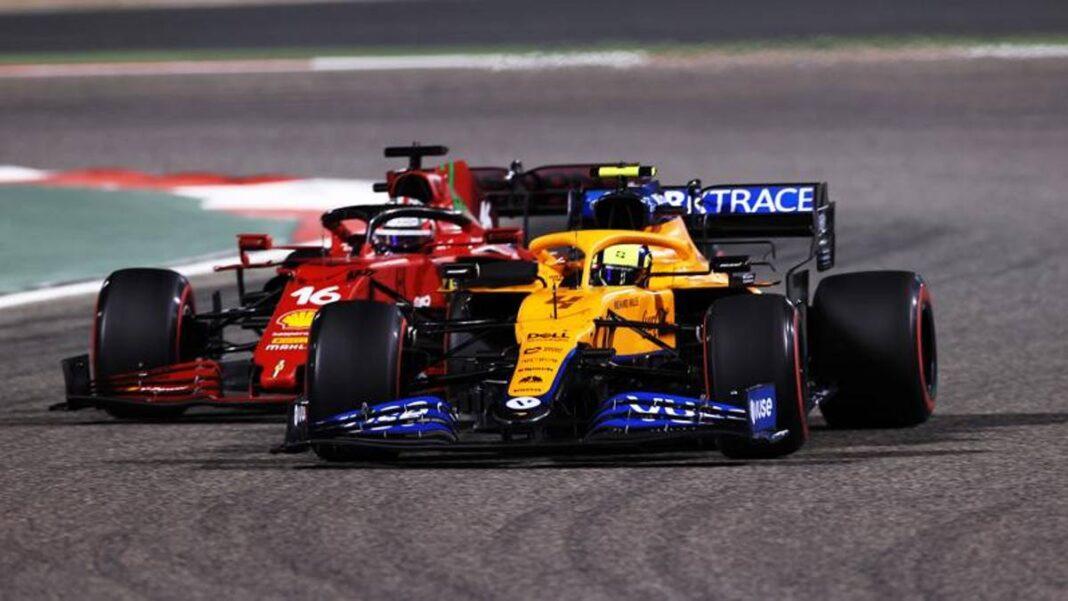 F1 Ferrari, McLaren goles y podio