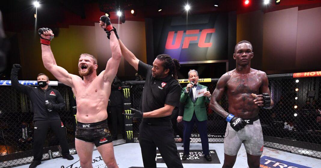 Jan Blachowicz vs.Tarjeta de puntuación de Israel Adesanya UFC 259