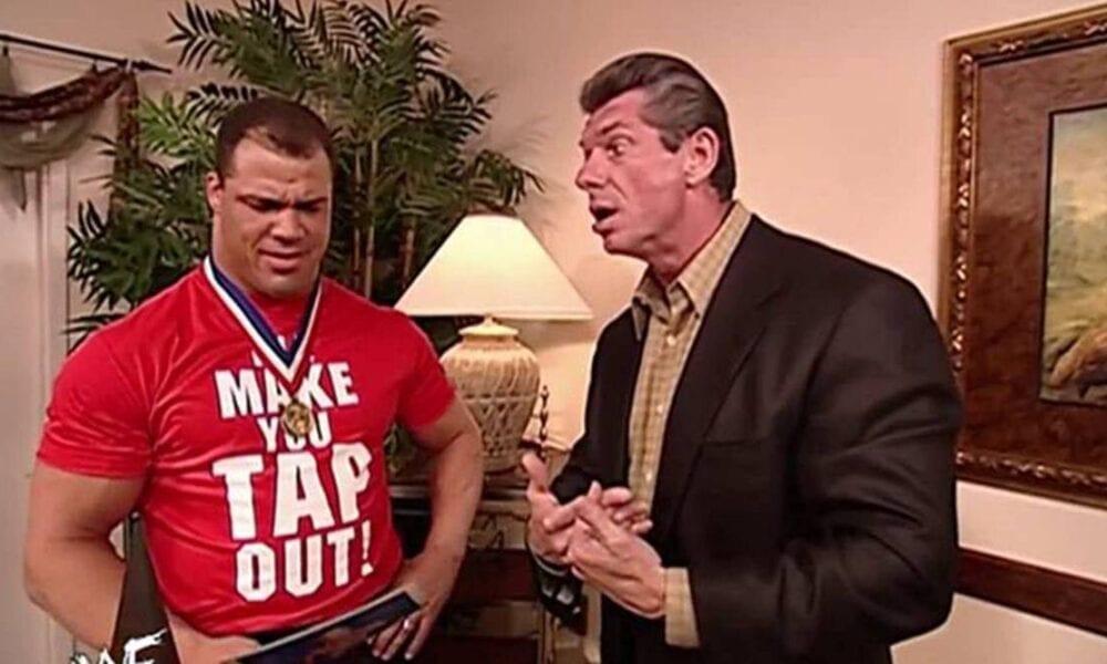 Kurt Angle cree que Vince McMahon es el padre y ganó $ 1 millón en el primer año de WWE