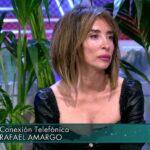 María Patiño abandona el plató cuando Rafael Amargo interviene por