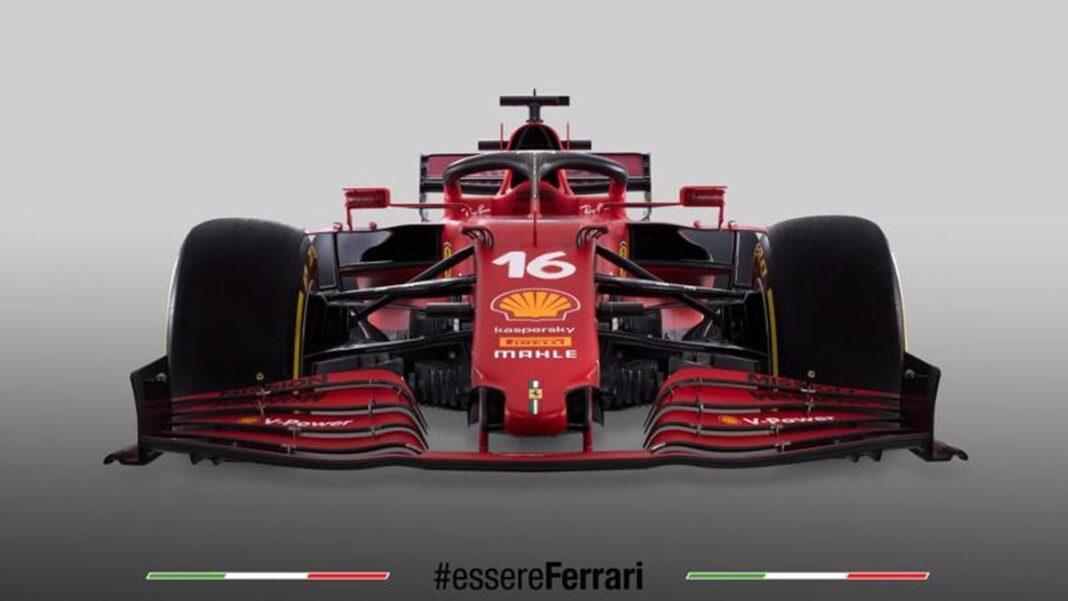 Nuevo Ferrari SF21 para el Campeonato del Mundo de F1: todas las imágenes del rojo 2021