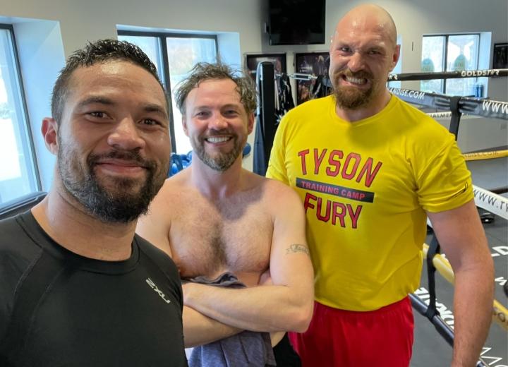 Parker: Tyson Fury me dijo que Lee sería perfecto, todo sucedió rápido