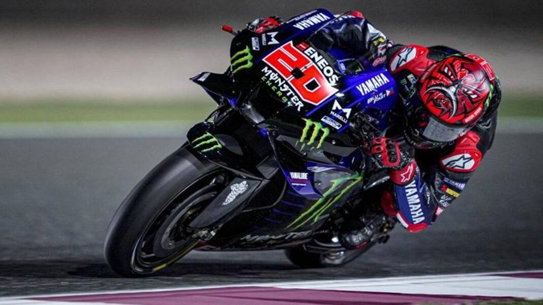 Prueba de Qatar: el Yamaha marcó el ritmo.  Bagnaia es cuarto, Rossi octavo