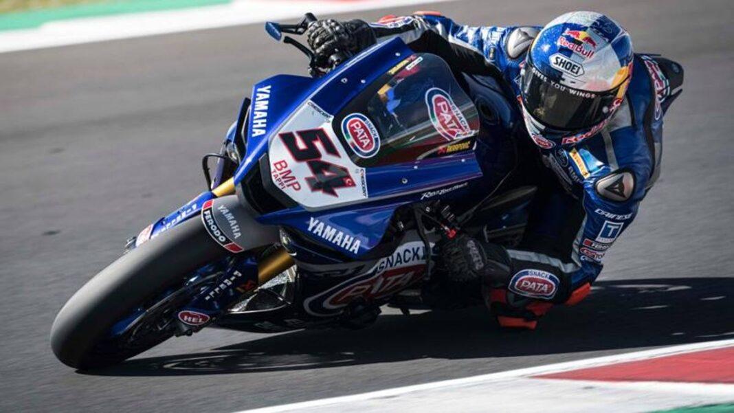 Prueba de Sbk Misano: Razgatlioglu delante de todos, OK Redding con Ducati