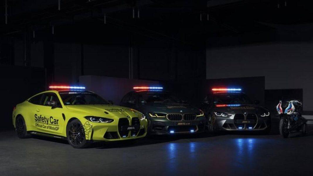 Tres nuevos Safety Cars de BMW (y también está el M 1000 RR)