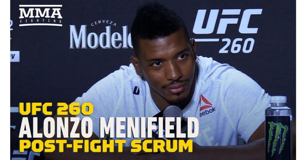 Video: Alonzo Menifield admite que ha estado trabajando en