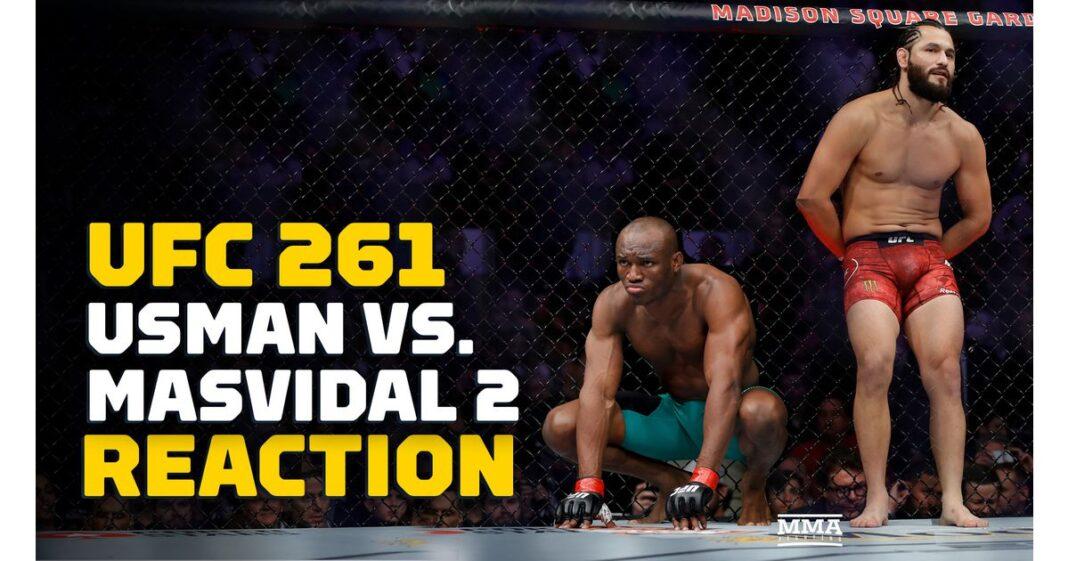 Video: Kamaru Usman vs.Jorge Masvidal 2 en los titulares de UFC 261