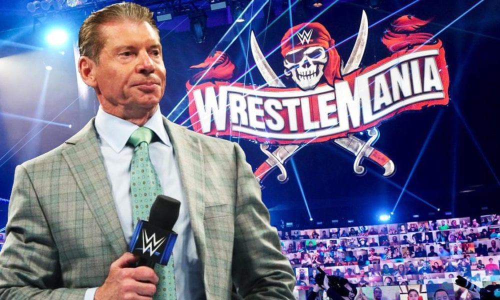 WWE reduce la cantidad de fanáticos por noche en WrestleMania 37