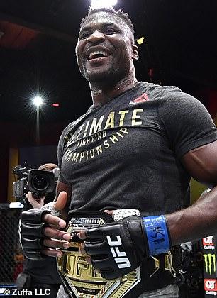 Ngannou derrotó a Stipe Miocic con un salvaje KO para convertirse en el campeón de peso pesado.