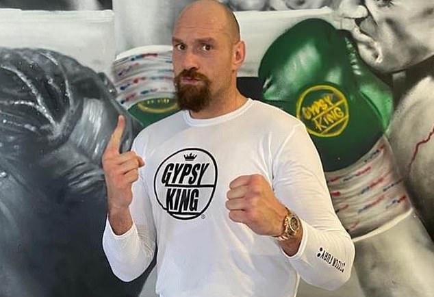 Tyson Fury se está preparando para sus grandes concursos con Anthony Joshua a finales de este año.