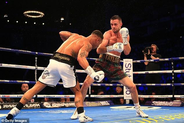 Taylor puede convertirse en el primer luchador británico en tener los cuatro títulos mundiales de peso welter ligero