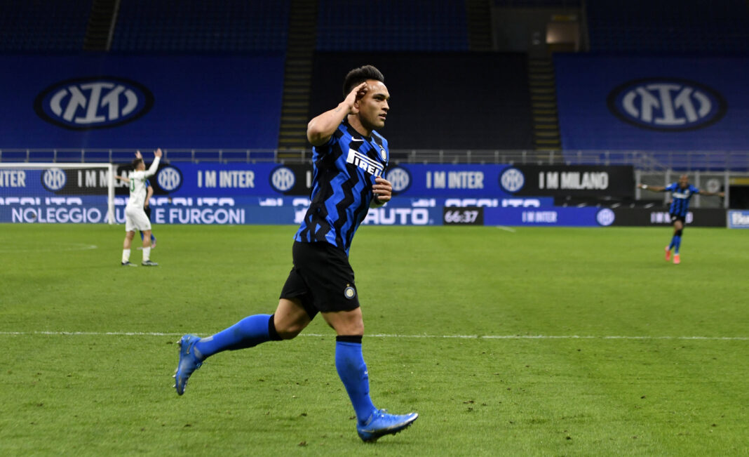 El delantero del Inter de Milán Lautauro Martínez encabeza la lista de jugadores que Argentina quiere para los Juegos Olímpicos de verano
