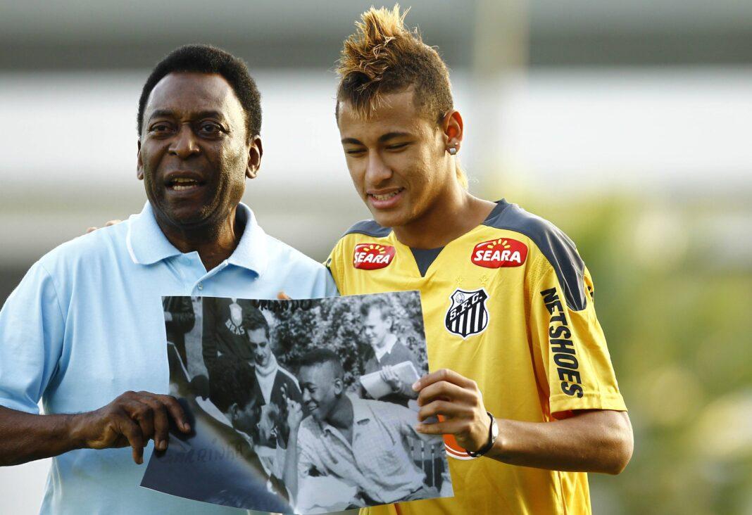 Medio brasileño coloca a Neymar entre los cinco mejores jugadores de la historia del Santos FC