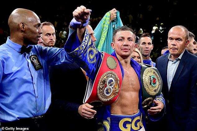 El estadounidense invicto también quiere una pelea de unificación con el campeón de la FIB Gennady Golovkin