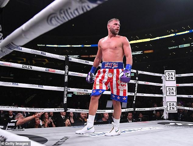 Billy Joe Saunders enfrenta una pelea masiva contra el mexicano Canelo Alvarez en Texas el 5 de mayo