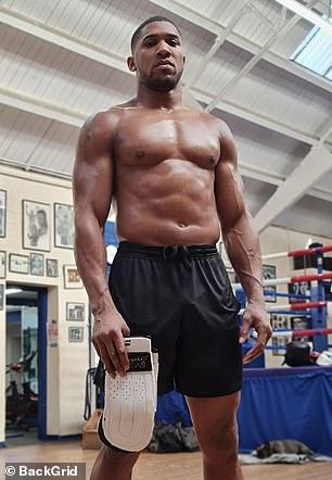 Joshua ha comenzado su campo de entrenamiento para la pelea más grande de su carrera.