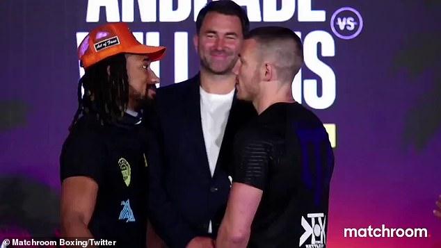 Liam Williams desafía a Demetrius Andrade por su título de peso mediano de la OMB el sábado