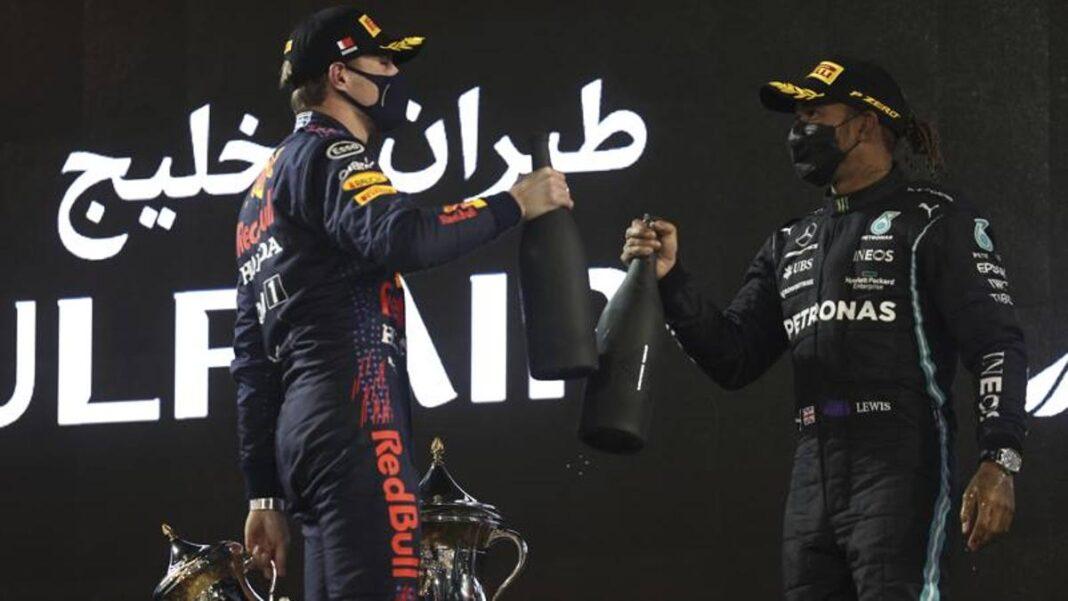 F1, Verstappen: 'Hamilton, uno de los mejores en la historia de la Fórmula 1'