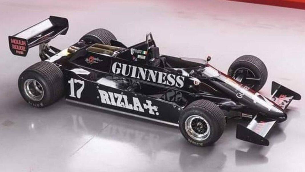 F1, la parábola del 811 de marzo: el coche de los ochenta en Sotheby's