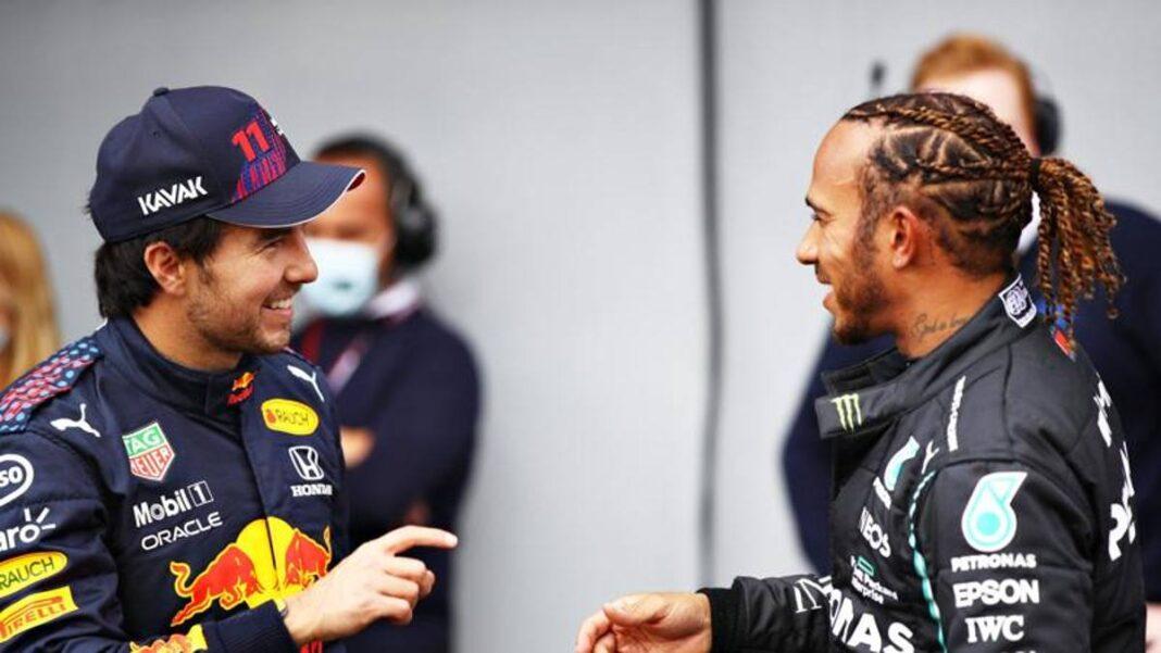 Hamilton: 'Un verdadero desafío con Red Bulls'.  Verstappen: 'No es bueno'