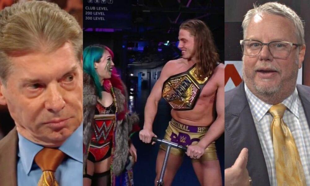 Noticias tras bambalinas sobre la reacción de Vince McMahon y Bruce Prichard a la corrupción de Matt Riddle en WWE Raw