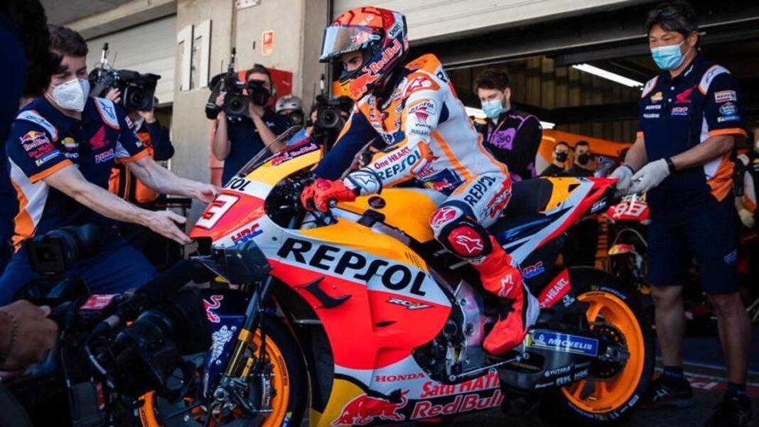 "Portimao, Márquez sonríe: ""Querido Honda, sigo siendo rápido"""
