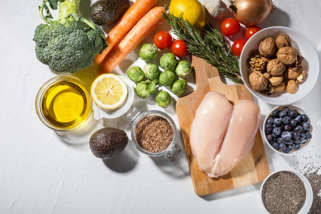 Programa alto en proteínas y sin gluten