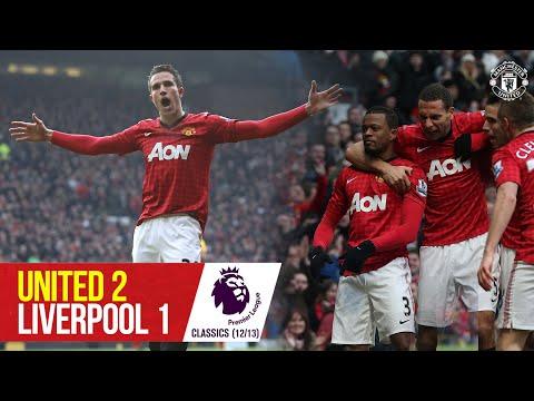 Van Persie protagoniza como los Rojos hunden al Liverpool |  Manchester United 2-1 Liverpool |  Premier League Clásico