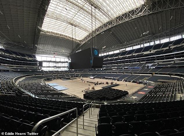 La pareja se reunirá en AT&T Stadium en Dallas, Texas, este fin de semana frente a 70.000 fanáticos.