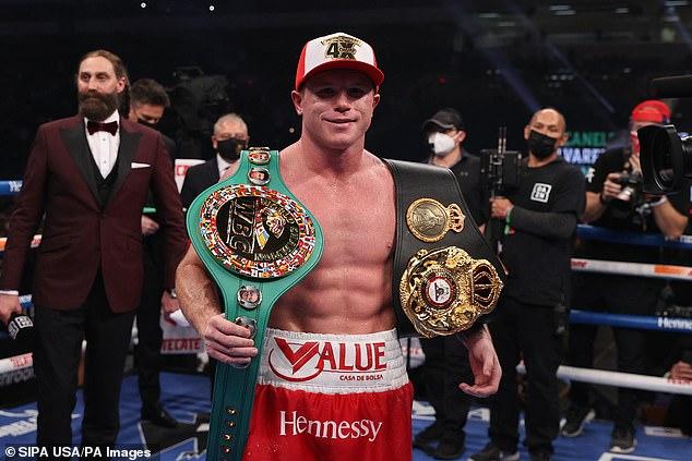Canelo pondrá sus títulos de la WBA, WBC y Ring Magazine en juego contra Saunders en Dallas