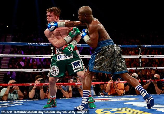 Floyd Mayweather ha sido el único hombre en infligir una derrota a la sensación mexicana
